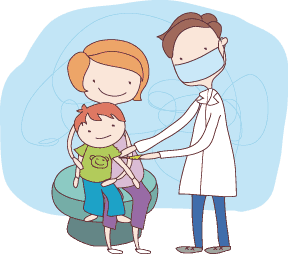 Flu vaccine is available in both injection (shots) and in nasal spray form, depending on supply. The nasal spray is not recommended for patients with certain medical conditions. The staff at 24/7 Pediatric Care Center can advise you if that's the case for your child.