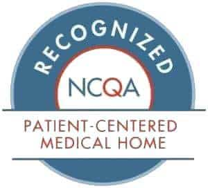 NCQA-Recognized patient-centered medical home.