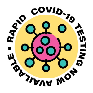 Rapid COVID-19 testing is now available.